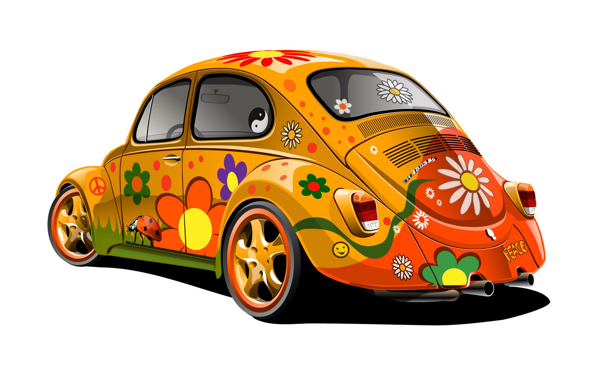 Hippie_VW_Beetle