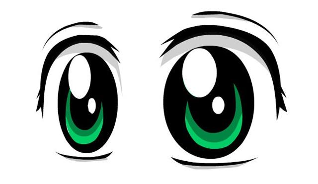 occhi-anime-manga